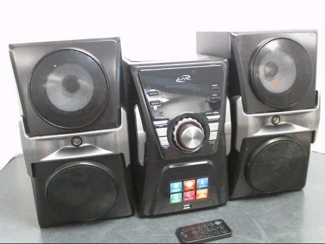 ILIVE Mini-Stereo IHB624B