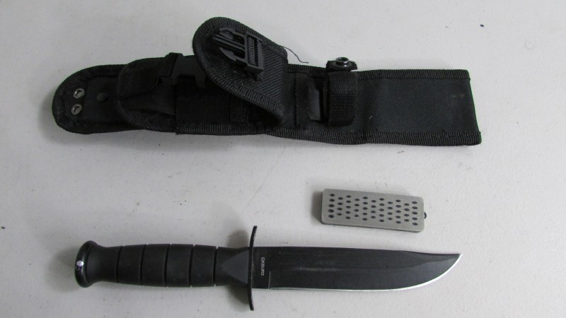 Smith & Wesson S&W Search Rescue Marine Combat Bowie Knife 7Cr17 HC CKSUR2