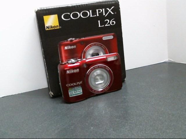 NIKON Digital Camera COOLPIX L26
