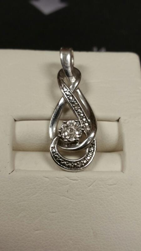 Silver Pendant 925 Silver 1.8dwt