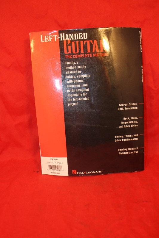 Left Handed Guitar Lessons Learn to Play Left Hand Hal Leonard Book