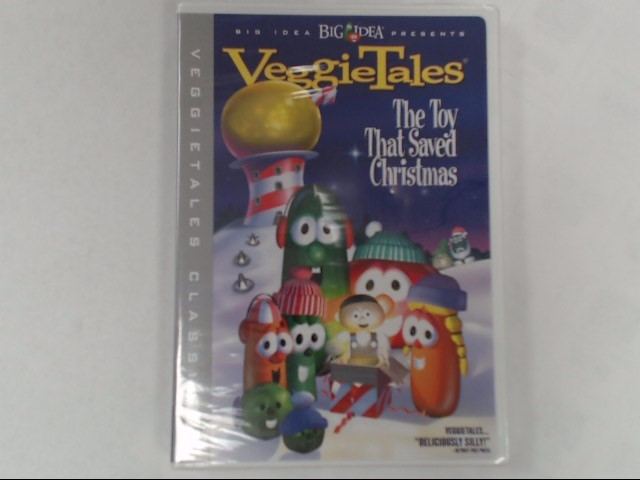 DVD MOVIE VEGGIETALES-THE TOY THAT SAVED CHRISTMAS (2002)