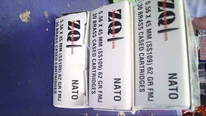 MKE Ammunition ZQI 5.56Z45MM