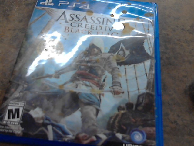 PS4 4 ASSASSIN CREED IV BLACK FLAG