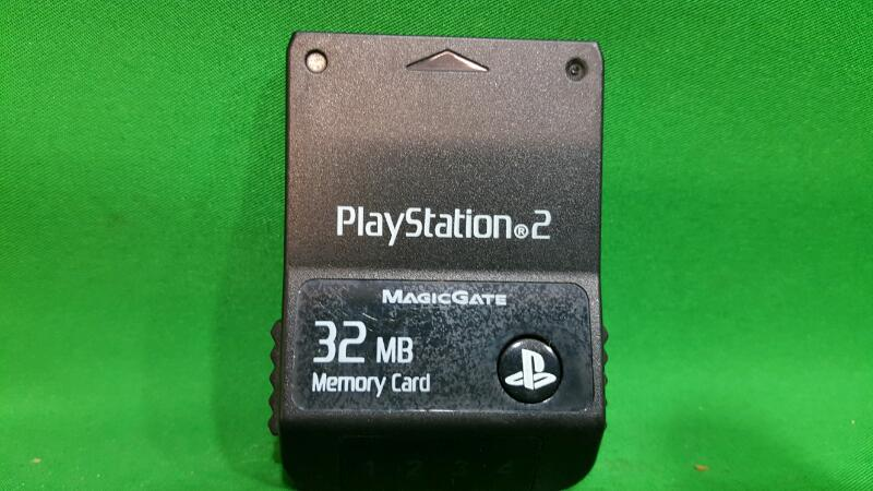Official 32MB Sony Playstation 2 Rare Katana Memory Card