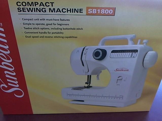 SUNBEAM Sewing Machine SB1800