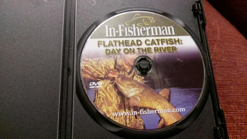 IN FISHERMAN FLATHEAD CATFISH DVD