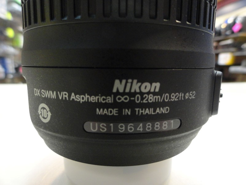 Nikon D3200 18-55 VR Kit AF-S DX Nikkor 18-55mm f/3.5-5.6G VR