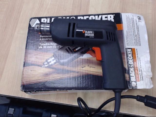 BLACK&DECKER Corded Drill 7152 REVERSIBLE DRILL