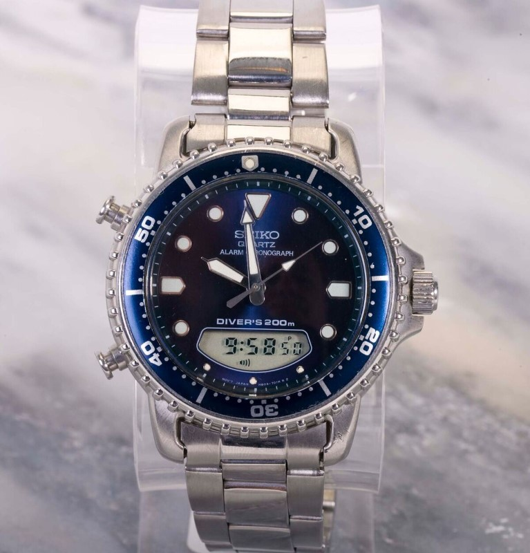 SEIKO Gent's Wristwatch DIVERS 200