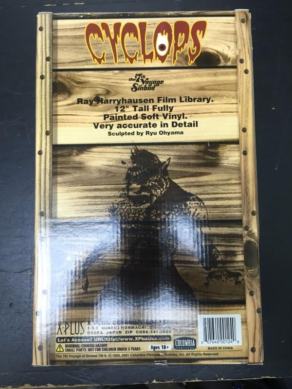 Ray Harryhausen The 7th Voyage of Sinbad CYCLOPS ACTION FIGURE X-PLUS