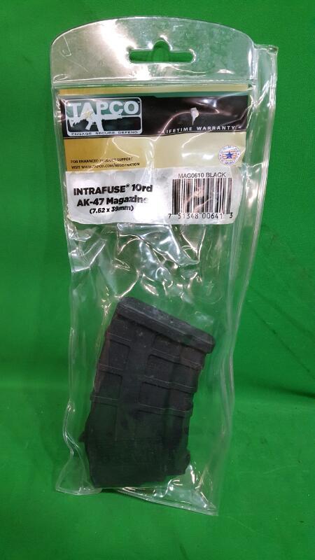 TAPCO FIREARMS Clip/Magazine INTRAFUSE 10RD AK-47 MAGAZINE