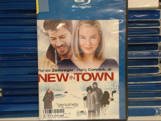 BLU-RAY MOVIE Blu-Ray NEW IN TOWN