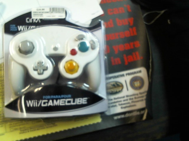 CIRKA Video Game Accessory WII GAMECUBE CONTROLLER