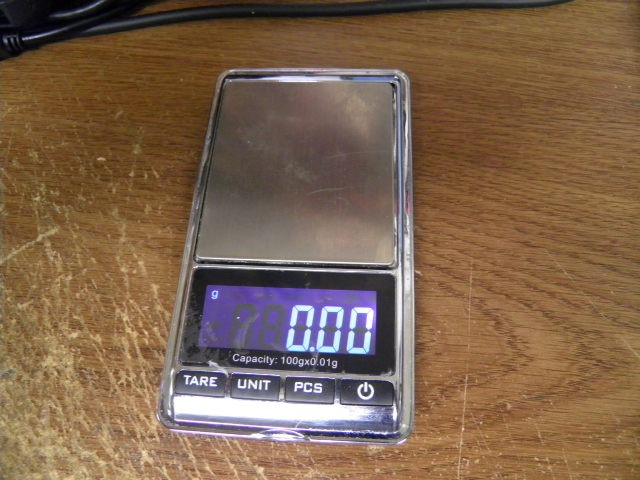 DIGIWEIGH DW-500BC POCKET SCALE