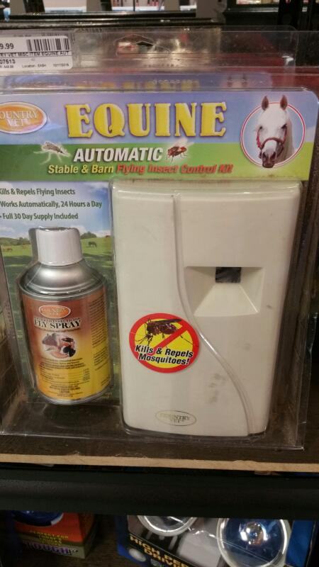 COUNTRY VET EQUINE AUTOMATIC FLY CONTROL KIT