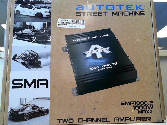 AUTOTEK Car Amplifier SMA10002