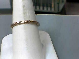 Lady's Gold Ring 10K Rose Gold 1dwt