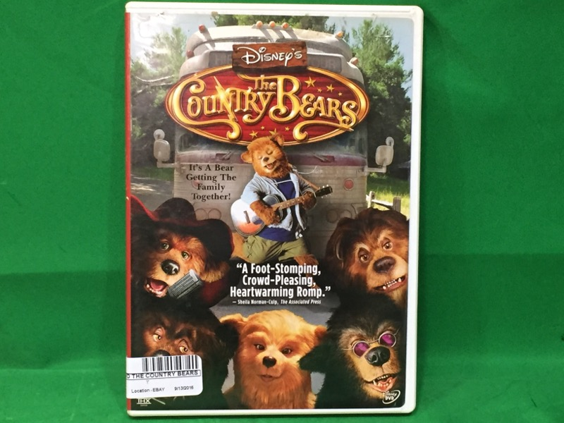 Disney's The Country Bears (DVD, 2002)