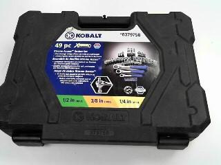 KOBALT TOOLS Sockets/Ratchet 49 PC 03749758 XTREME ACCESS
