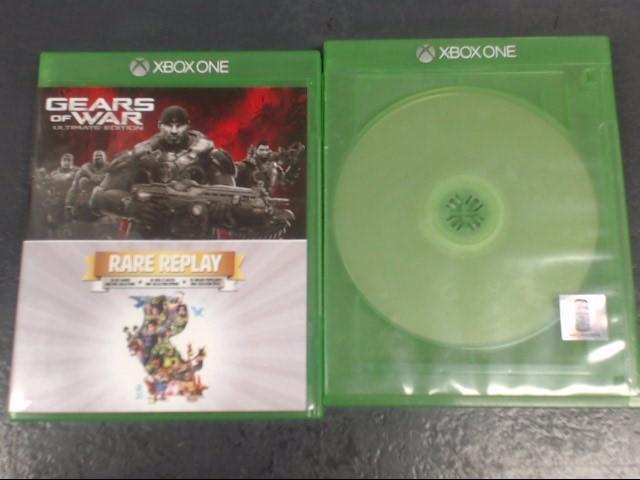 MICROSOFT Microsoft XBOX One Game GEARS OF WAR ULTIMATE EDITION/ RARE REPLAY