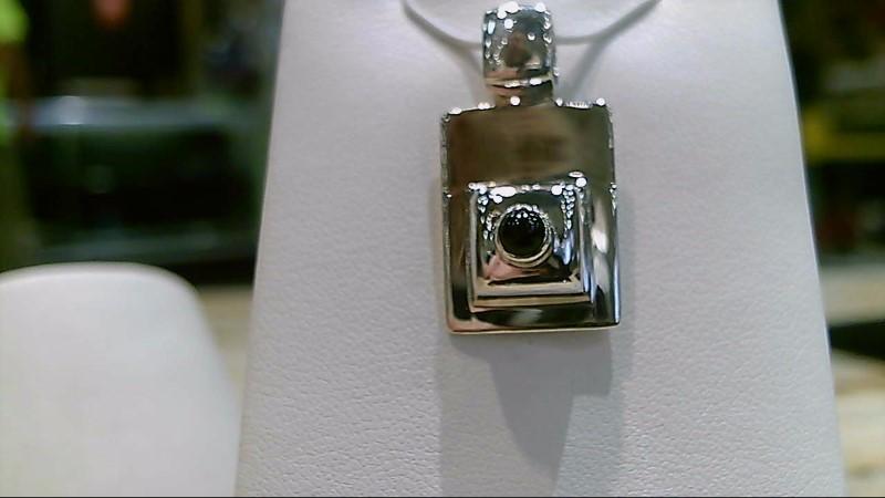 Silver Silpada Black Onyx Pendant 925 Silver 6g
