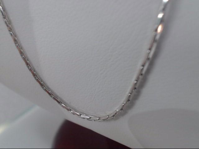 Gold Byzantine Chain 14K White Gold 5.3g