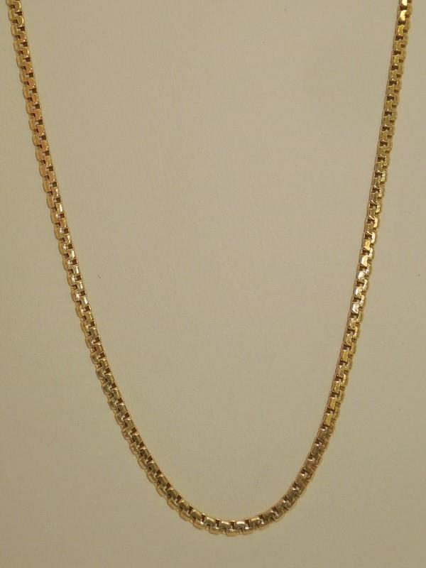 Gold Fashion Chain 14K Yellow Gold 9.4g