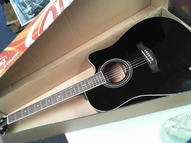 IBANEZ Electric-Acoustic Guitar V70CE-BK