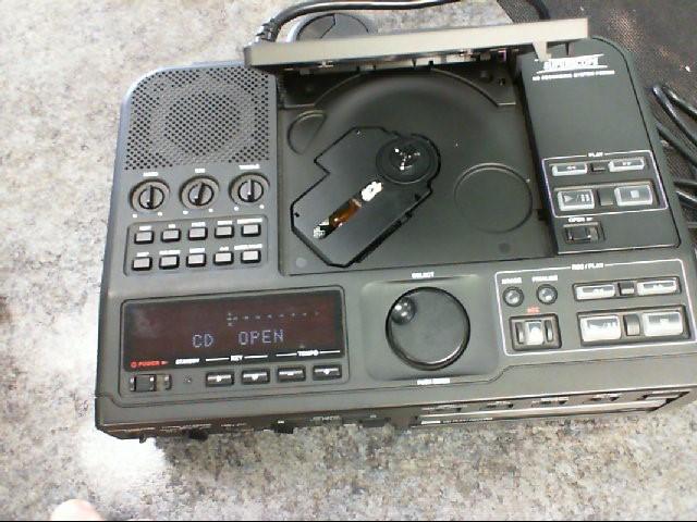 SUPER SCOPE DJ Equipment PSD300 CD RECORDER SYSTEM