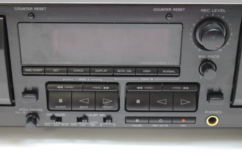 SONY TCWR565 DUAL DOLBY STEREO CASSETTE RECORDER DUBBING DECK AS-IS