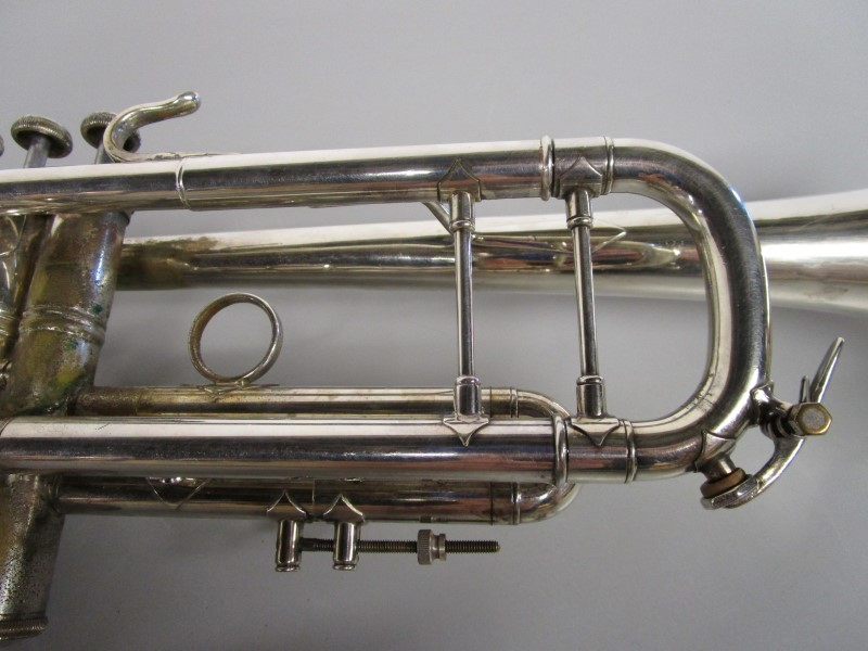 VINCENT BACH STRADIVARIUS MODEL 37 TRUMPET, ML BORE, CIRCA 1984/85