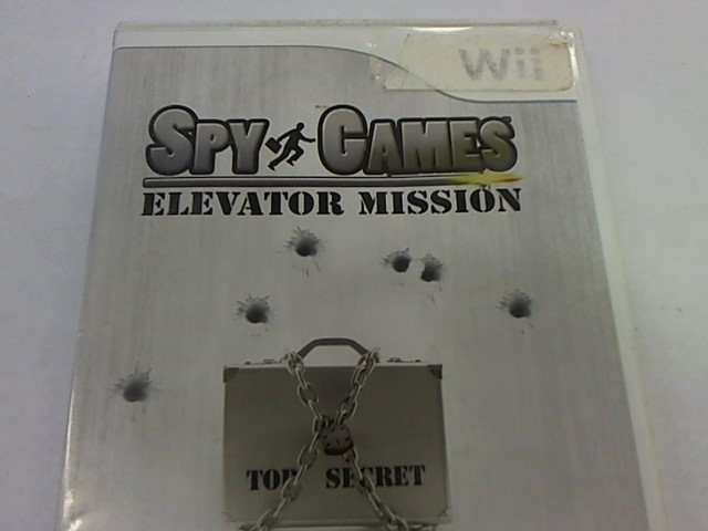 WII SPY GAMES ELEVATOR MISSION