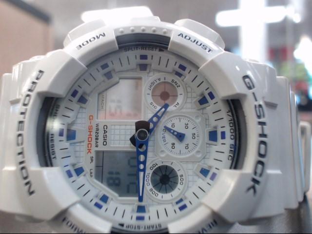 CASIO Gent's Wristwatch G-SHOCK GA100A-7A
