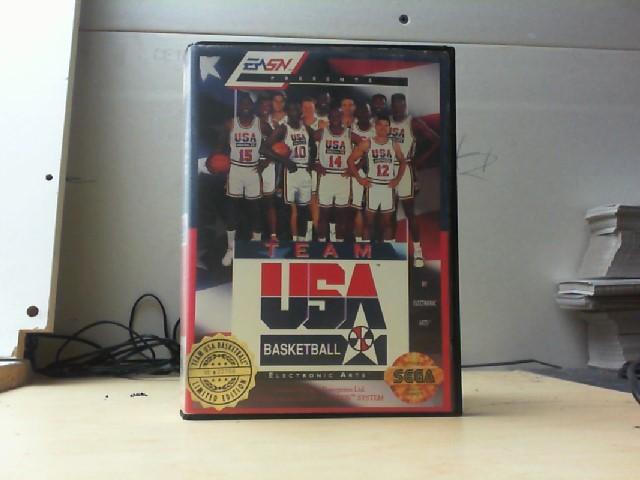 SEGA Sega Game TEAM USA BASKETBALL