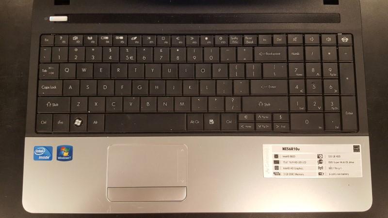 GATEWAY Laptop/Netbook NE56R10U