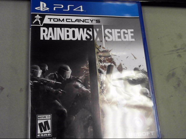SONY Sony PlayStation 4 Game TOM CLANCY'S RAINBOW SIX SIEGE