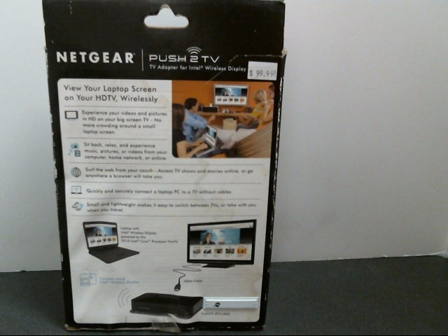 NETGEAR Networking & Communication PUSH2TV