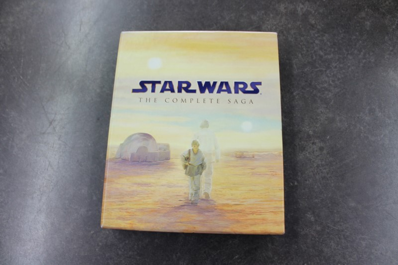 STAR WARS Blu-Ray THE COMPLETE SAGA BLURAY