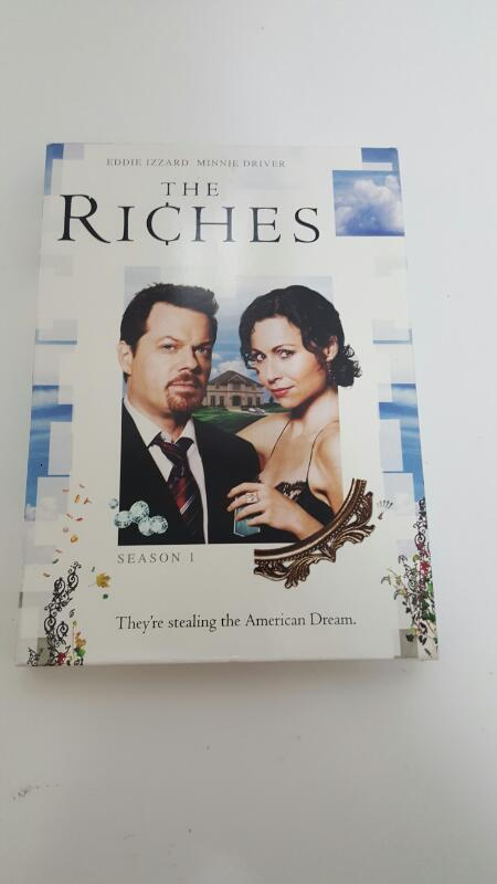 THE RICHES SEASON 1 (DVD SET, 4-DISC)