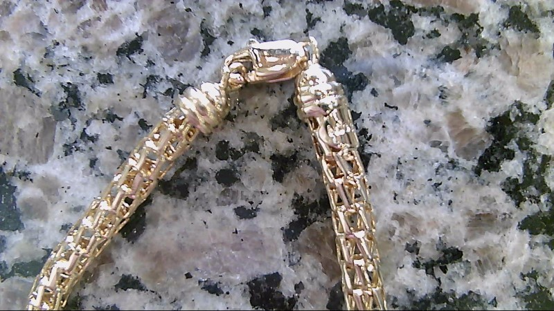 Gold Bracelet 14K Yellow Gold 7.6g
