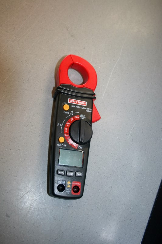 Craftsman 400A AC/DC Clamp Meter 34-82369