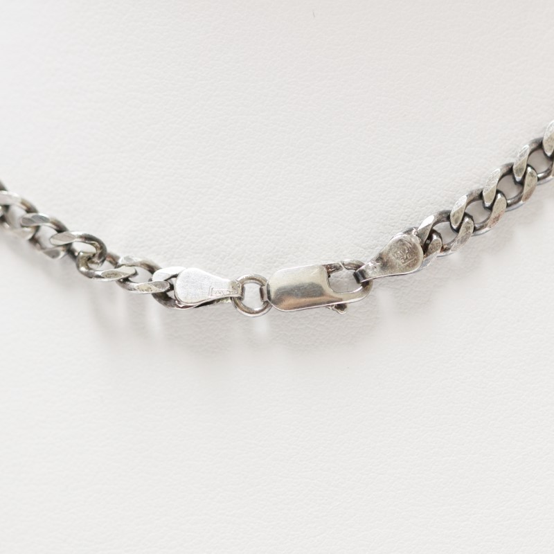 "18"" Sterling Silver Curb Chain"