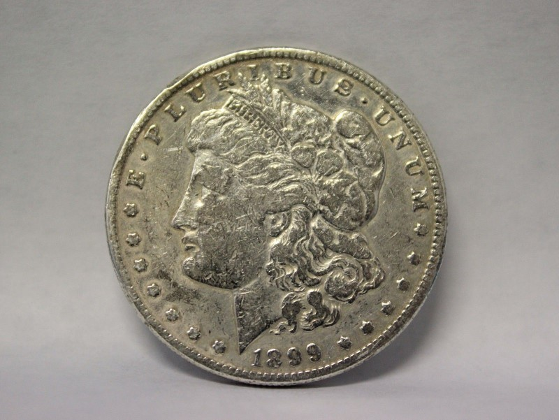 1899-O Morgan Silver Dollar Lady Liberty 90% Silver New Orleans
