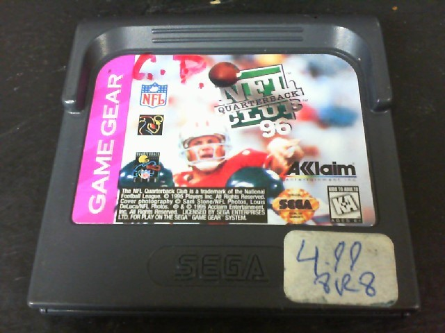 SEGA Sega Game NFL QUARTERBACK CLUB 96