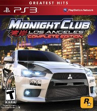 SONY PlayStation 3 Game PS3 MIDNIGHT CLUB LOS ANGELES COMPLETE EDITION