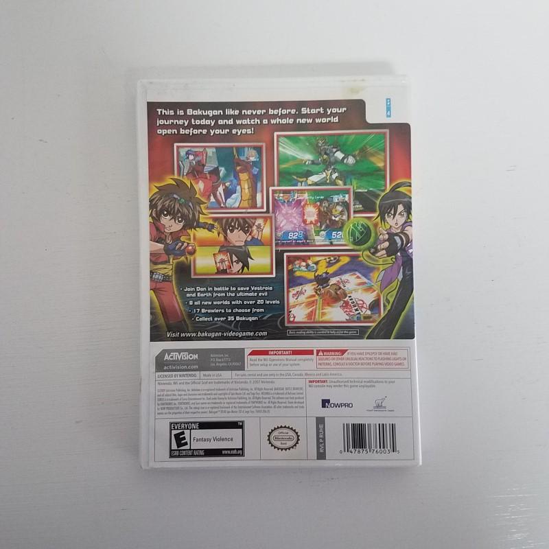 Bakugan Battle Brawlers - (Nintendo Wii, 2009)