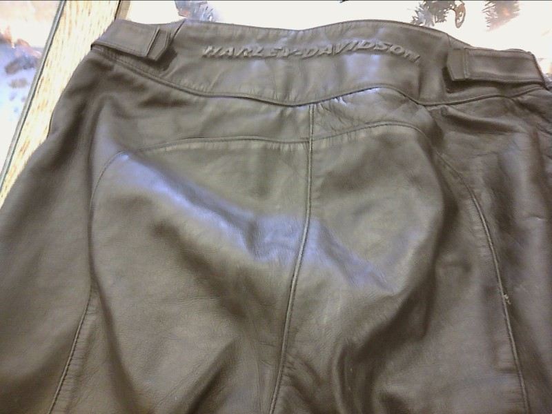 HARLEY DAVIDSON Clothing LEATHER WOMENS PANTS