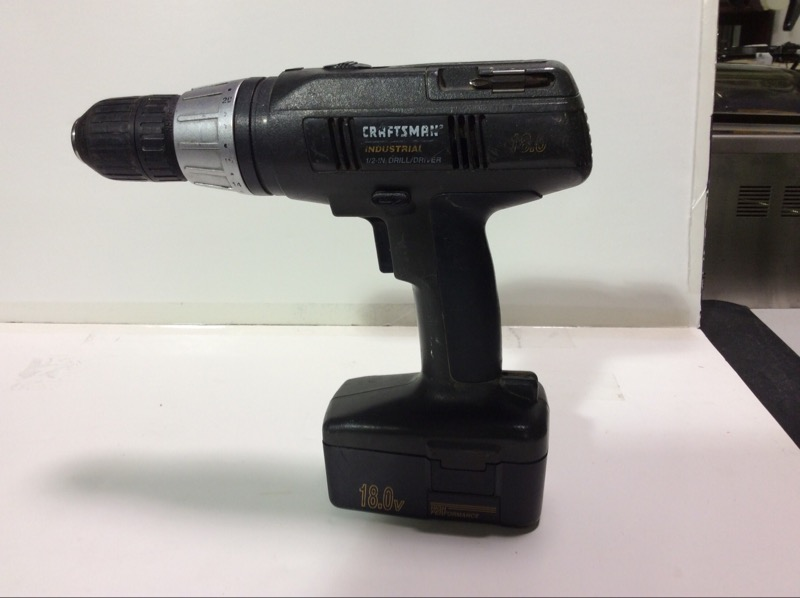 CRAFTSMAN Corded Drill 17338 and charger