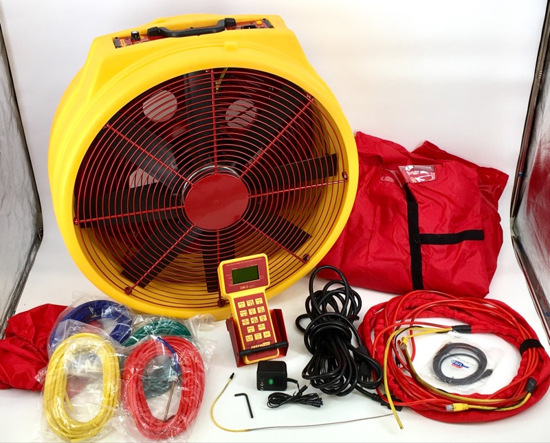 RETROTEC INC. DM2 MARK II BLOWER DOOR ARIFLOW SYSTEM KIT Q46